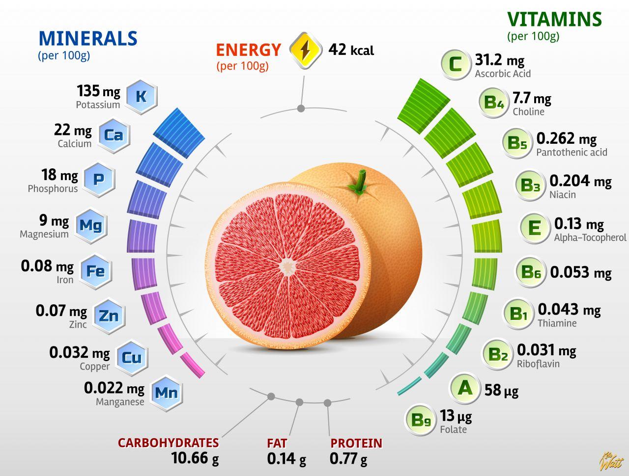 grapefruit_vitamins_infographics